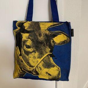 Handbags - Andy Warhol Canvas Tote Bag